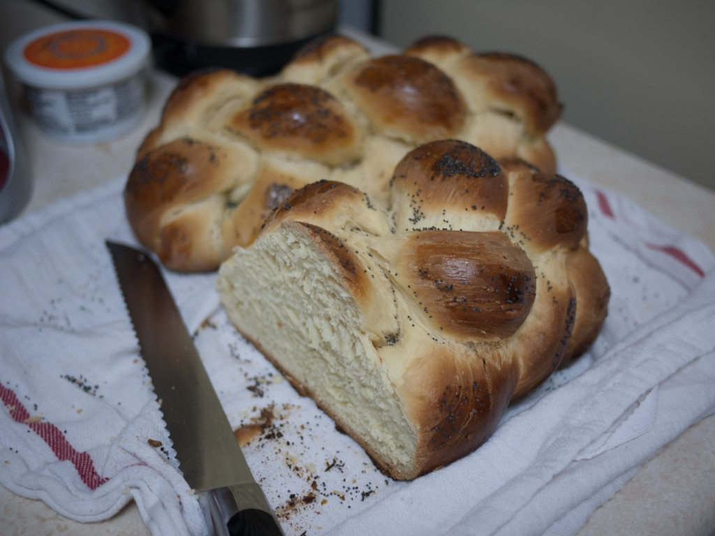 Baked Challah bread