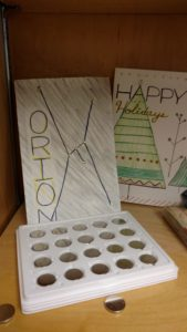 "LED Holiday Cards - ""Orion Constellation"" and ""Happy Holiday Tree"""